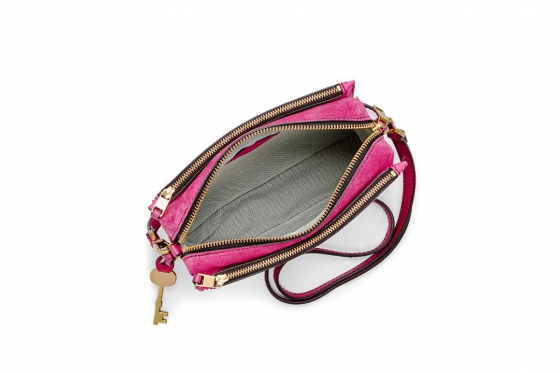 Fossil Tasche - Campbell Crossbody Hot Pink 1