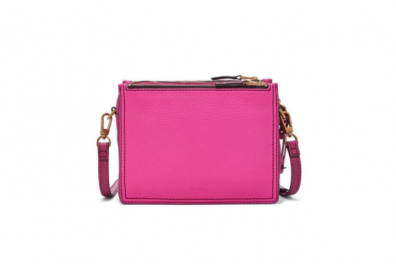 Fossil Tasche - Campbell Crossbody Hot Pink 2