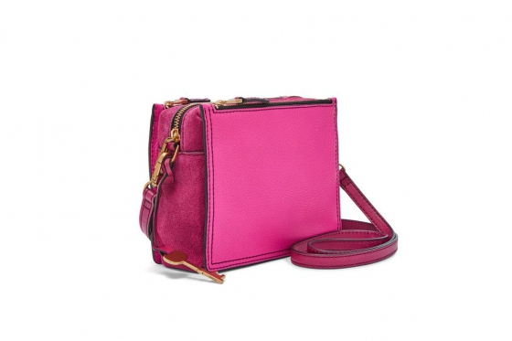 Fossil Tasche - Campbell Crossbody Hot Pink 3