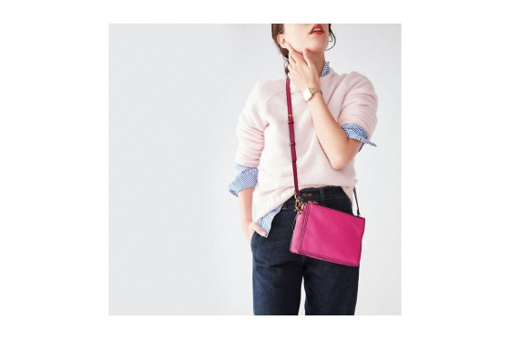 Fossil Tasche - Campbell Crossbody Hot Pink 4