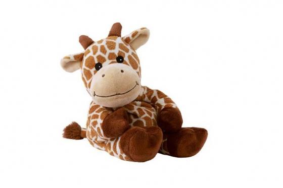 Wärmestofftier Giraffee   - mit Hirse-Lavendel-Füllung