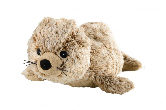 Wärmestofftier Robbe Mini   - mit Hirse-Lavendel-Füllung