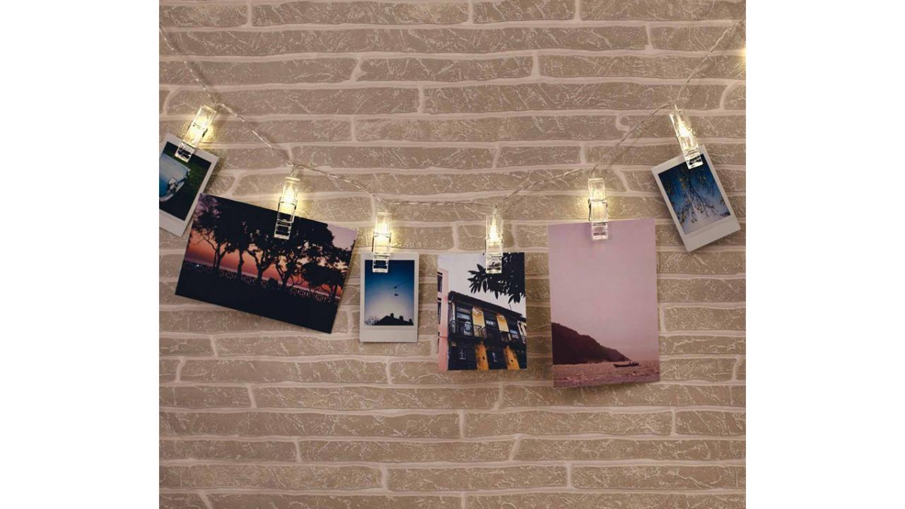 led lichterkette foto clip. Black Bedroom Furniture Sets. Home Design Ideas