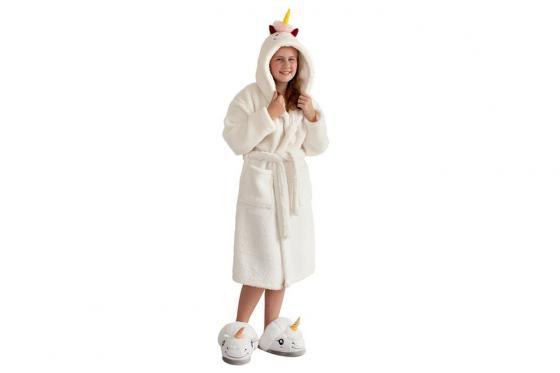 Peignoir licorne - pour enfant