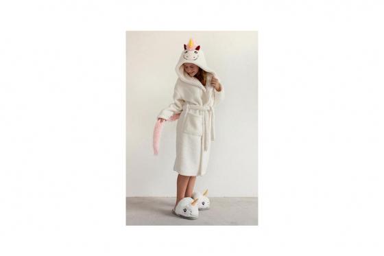 Peignoir licorne - pour enfant 1