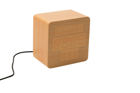 Wooden Wecker - The Bright Bambus 2