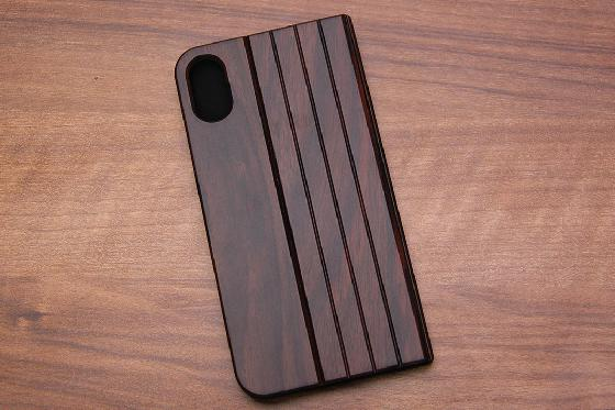 iPhone X Flip Case - Padouk 1