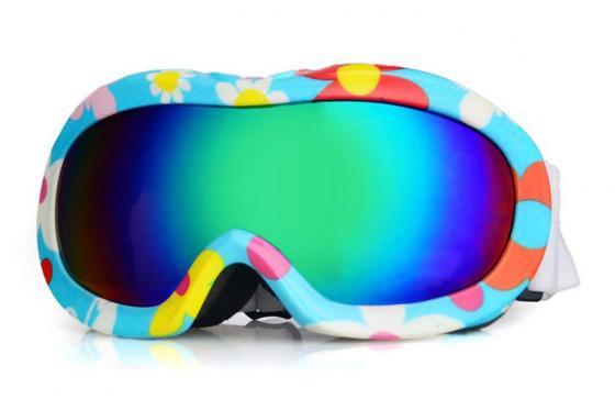 Lunettes de ski enfant Flower - UV400 certifié