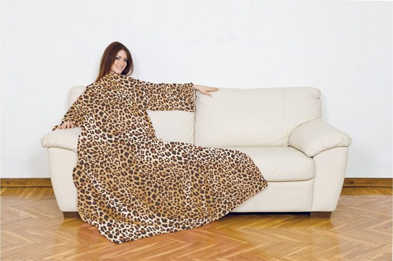 Ärmeldecke - Leopard Deluxe