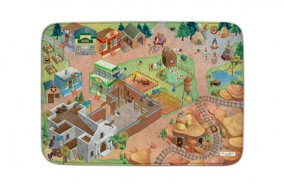 Spielteppich Western - 100 x 150 cm