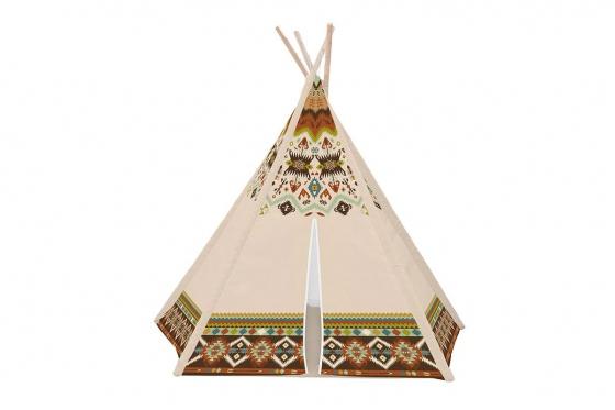 Spielzelt Tipi - im Indianer-Look