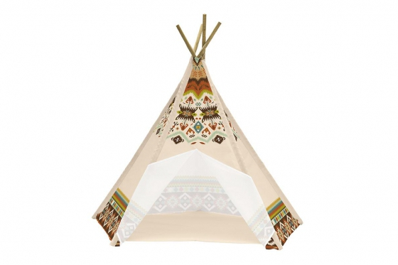 Spielzelt Tipi - im Indianer-Look 1