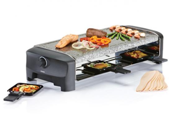 Raclette 8 Stone   - 1300 Watt