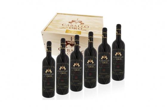 Weinkiste 6 Flaschen - mit Gravur