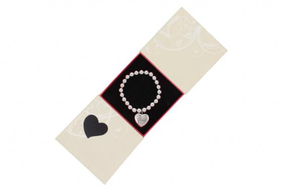 Armband mit Herzanhänger - personalisierbar 4