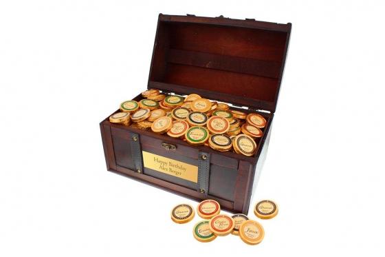Coffre de chocolat Magnum - avec gravure