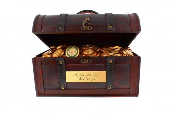Coffre de chocolat Magnum - avec gravure 5