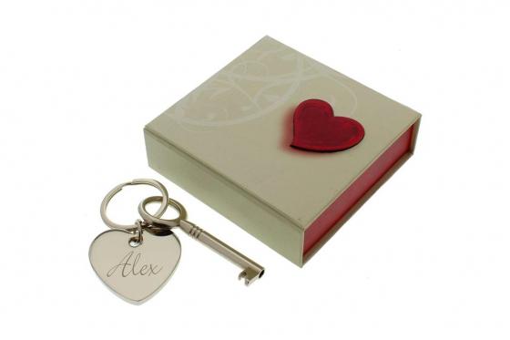 La clé du coeur - avec gravure 2