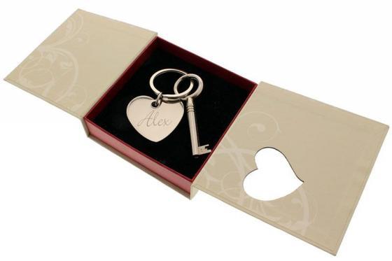 La clé du coeur - avec gravure 3