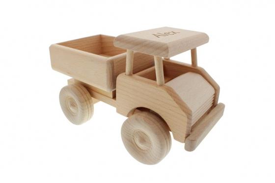 Camion en bois - personnalisable