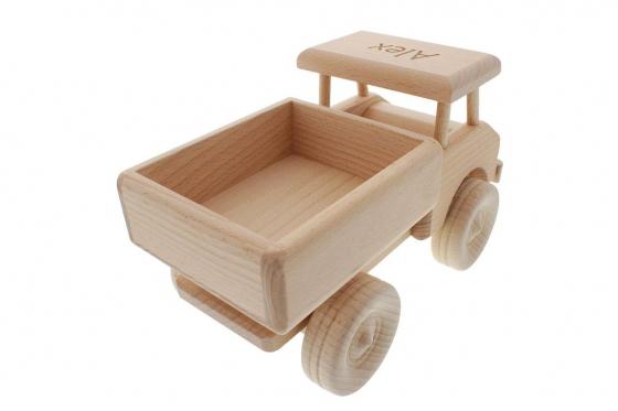 Camion en bois - personnalisable 2