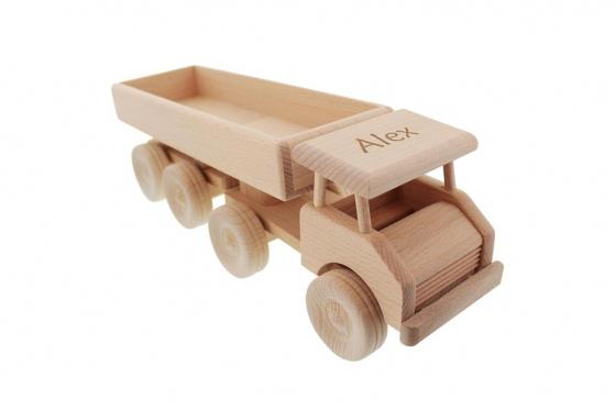Tracteur routier en bois - personnalisable