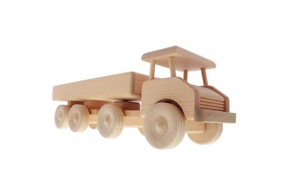 Tracteur routier en bois - personnalisable 1