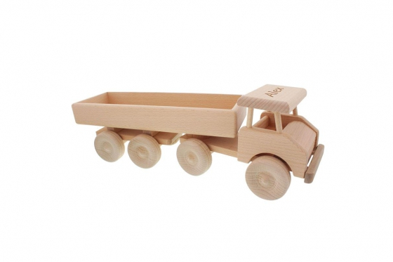Tracteur routier en bois - personnalisable 2
