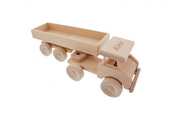 Tracteur routier en bois - personnalisable 4