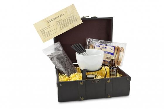 Geschenk-Set - Schokoladenfondue