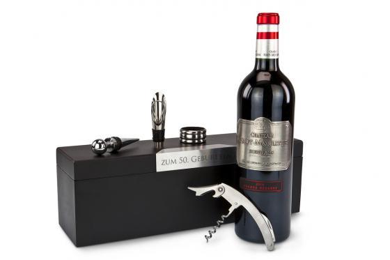 Box cadeau vin - Personnalisable 1