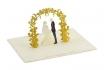 Geschenkkarte - Kirigami Arco Hochzeitspaar              [article_picture_small]