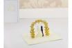 Geschenkkarte - Kirigami Arco Hochzeitspaar             1 [article_picture_small]