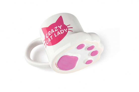 Tasse Crazy Cat Lady   - 45cl 1