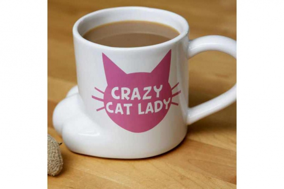 Tasse Crazy Cat Lady   - 45cl 2