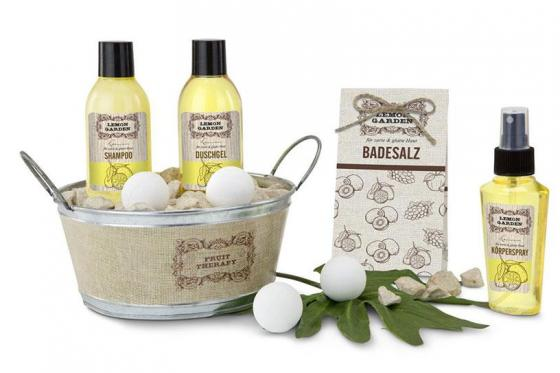 Wellness-Set Lemon Garden - 9-teilig