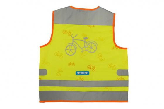 Sicherheitsweste gelb - Kinder-Grösse M 1