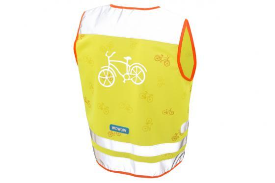 Sicherheitsweste gelb - Kinder-Grösse M 2