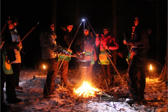 Iglu Abenteuer für 2 Personen - inkl. Fondue, Schlitteln & Schneeschuhlaufen 5 [article_picture_small]