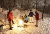 Iglu Abenteuer für 4 Personen-inkl. Fondue, Schlitteln & Schneeschuhlaufen 1