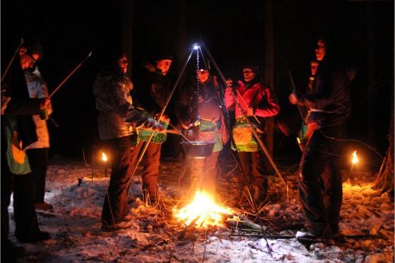 Iglu Abenteuer für 4 Personen - inkl. Fondue, Schlitteln & Schneeschuhlaufen 5 [article_picture_small]