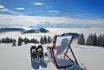 Kulinarische Schneeschuhtour-3 Gänge - 3 Gastgeber / für 1 Person 1