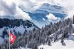 Kulinarische Schneeschuhtour-3 Gänge - 3 Gastgeber / für 1 Person 3