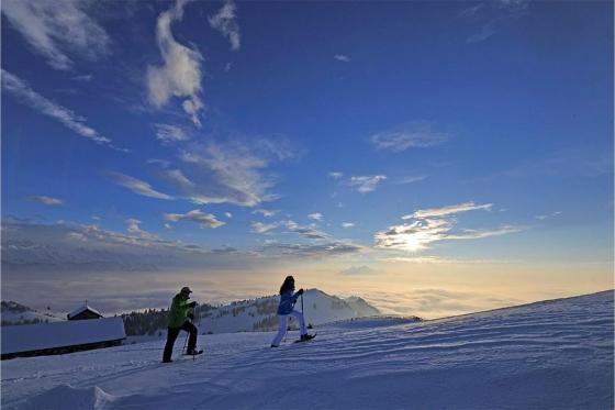 Kulinarische Schneeschuhtour - 3 Gänge - 3 Gastgeber / für 1 Person 1 [article_picture_small]