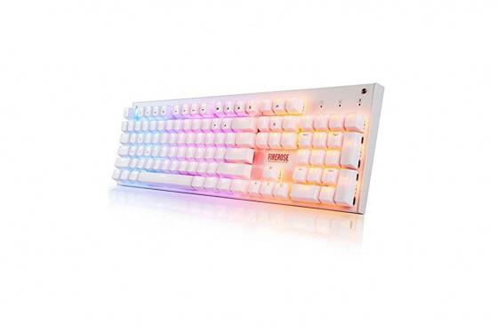LED Tastatur - Regenbogen-Lichter