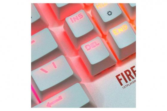 LED Tastatur - Regenbogen-Lichter 3