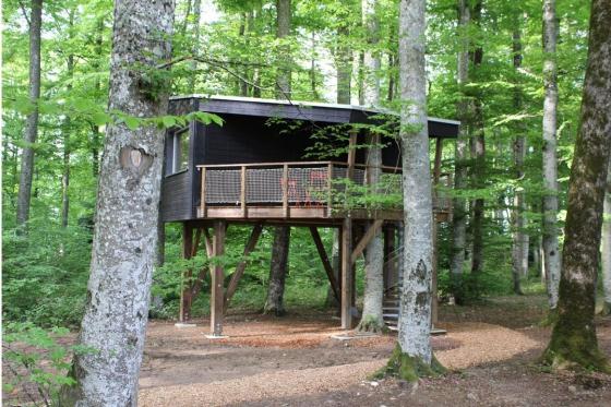 Nuitée dans une cabane - Séjour insolite pour 2 personnes, avec petit-déjeuner 2 [article_picture_small]