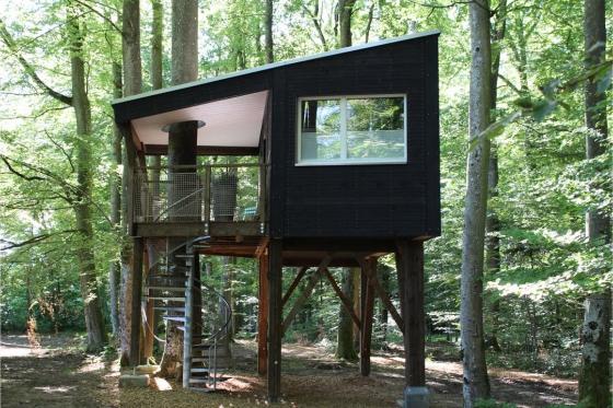 Nuitée dans une cabane - Séjour insolite pour 2 personnes, avec petit-déjeuner 3 [article_picture_small]