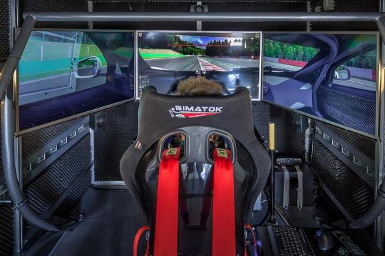 Simulateur de course automobile - Séance de 30 minutes avec le simulateur Simatok pour 1 personne  [article_picture_small]