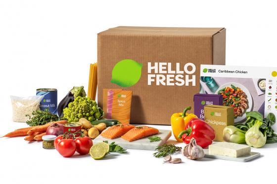 Veggie Kochbox von HelloFresh - 3 Gerichte für 2 Personen  [article_picture_small]